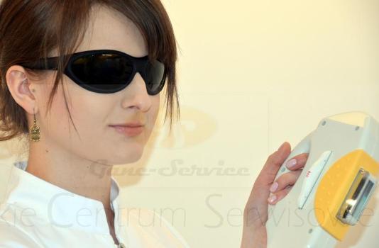 Ochrona wzroku przeciwko szkodliwemu światłu IPL